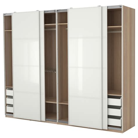 Bedroom: 12 Beautiful Sliding White Wardrobe Cabinet Ideas Cabinets For Closets, White Bedroom