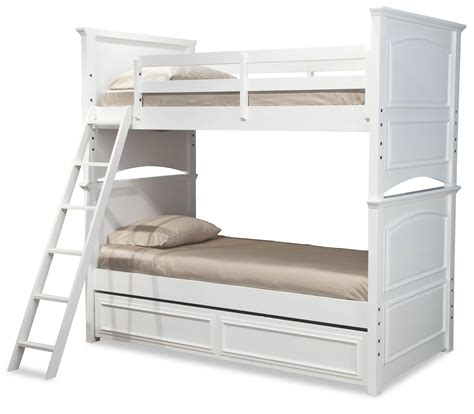 Bunk Bed Size Mattress Legacy Classic Classic Size Bunk Bed With Trundle Drawer Dunk