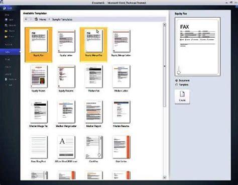 เข ยน Resume ให ประท บใจด วย Word 2010 Microsoft Word 2010 Templates