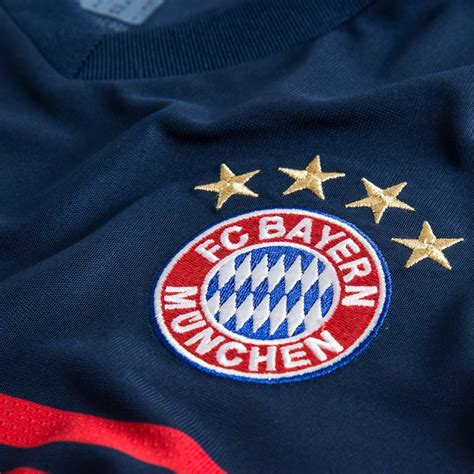 Bayern Muenchen Away bayern m 252 nchen away shirt 2017 18 www unisportstore