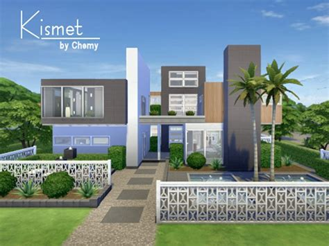 House Plans For View Lots by Kismet Modern House By Chemy At Tsr 187 Sims 4 Updates