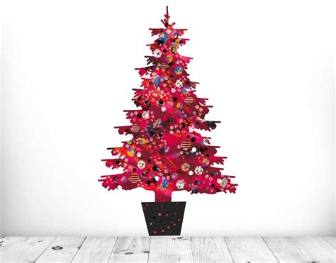 Removable Wall Murals evie kemp red christmas tree your decal shop nz