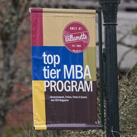 Top Tier Schools With Mba Programs by Accreditation Rankings Willamette Mba