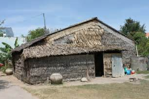 a poor house of the khmer photo