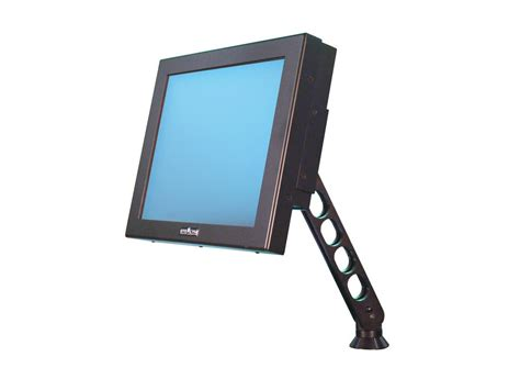rugged monitor 17 quot rugged desktop industrial lcd monitor sparton rugged electronics