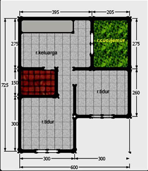 20 Desain Inspiratif Rumah Tumbuh Tipe 21 36 M2 denah rumah 3 kamar tidur type 45 2017