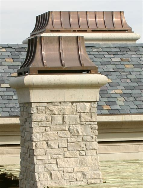 Fireplace Shrouds by Custom Copper Chimney Caps