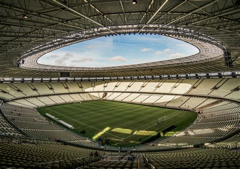 Calendario Arena Mexico Estadio Castelao Sedes Mundial 2014 Marca