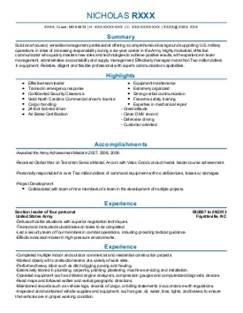 68w Resume by 68w Health Care Specialist Combat Medic Resume Exle
