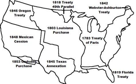 manifest destiny map blank map of us manifest destiny