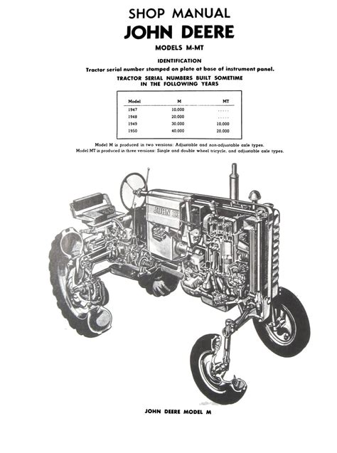 1947 deere model a wiring diagram for a year free