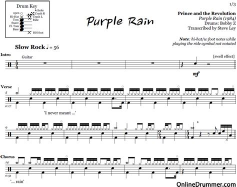 sultans of swing drum sheet purple prince and the revolution drum sheet