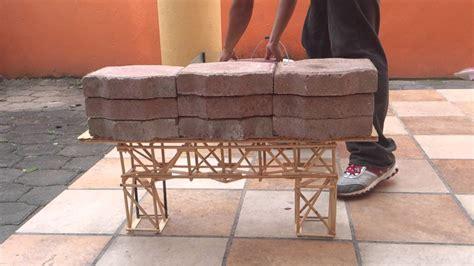 imagenes de puentes hechos de palitos puente ecol puente de palitos de madera youtube