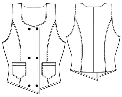 free pattern waistcoat waistcoat with pockets sewing pattern 5360 made to