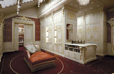 cabina armadio classica cabina armadio personalizzata e di lusso king gold