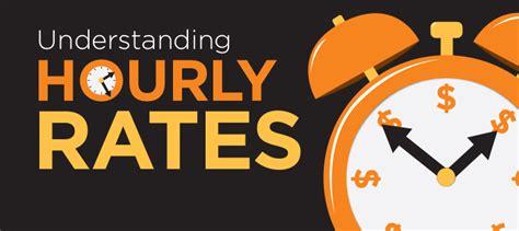 understanding rates understanding hourly rates when hiring a service