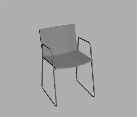 sedia cad sedie sedia nex di poliform day tables