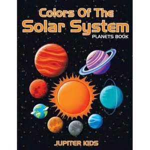 Vanity Planet Book Of Color Colors Of The Solar System Planets Book Walmart