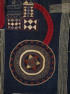 Maninka Necklace africa an ikaki pattern textile from akwete igbo peoples of southern nigeria photo by