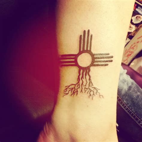 zia symbol to represent my nm roots