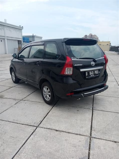 Toyota New Avanza 1 3 G Manual toyota all new avanza 1 3 g manual warna hitam 2015 km 9