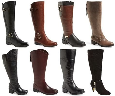 thirteen places to shop trendy and stylish wide calf boots