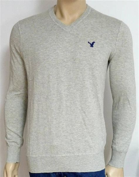 American Eagle Outfitters T Shirt Neck Stitches Navy Original american eagle sweaters