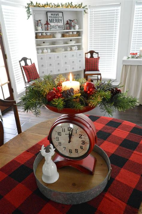 Centerpiece Ideas For Dining Room Table 704 best christmas kitchen images on pinterest christmas