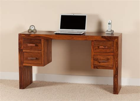 Sheesham Wood Desk by Sheesham Desk Wood Computer Table Casa Home