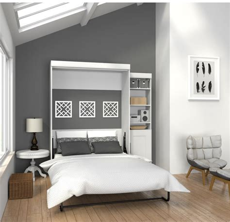 white murphy bed bookcase 7 white murphy beds for a stylish home cute furniture