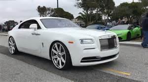 White On White Rolls Royce Rolls Royce Wraith Custom Image 120