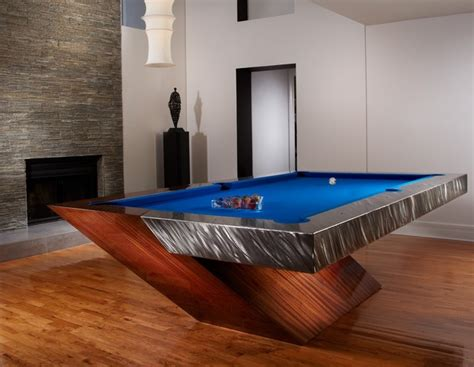 contemporary pool tables  mitchell pool tables eclectic family room los angeles