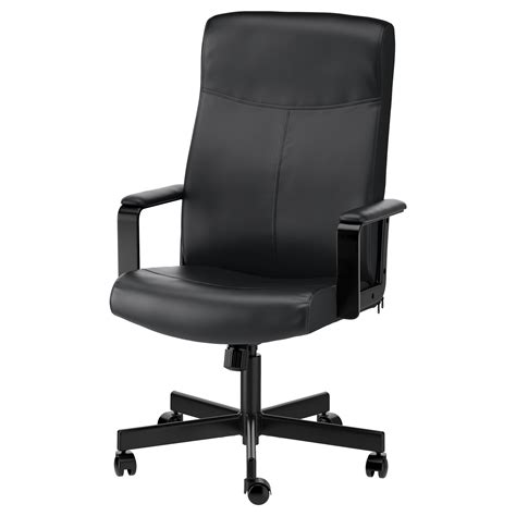 chair swivel millberget swivel chair bomstad black ikea