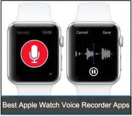 Best apple watch voice recorder apps hd audio recording