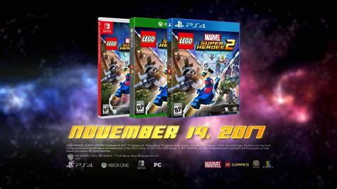 Murah Ps4 Lego Marvel Heroes Reg 2 lego marvel heroes 2 confirmed for playstation 4 launch on november 14 2017 playstation