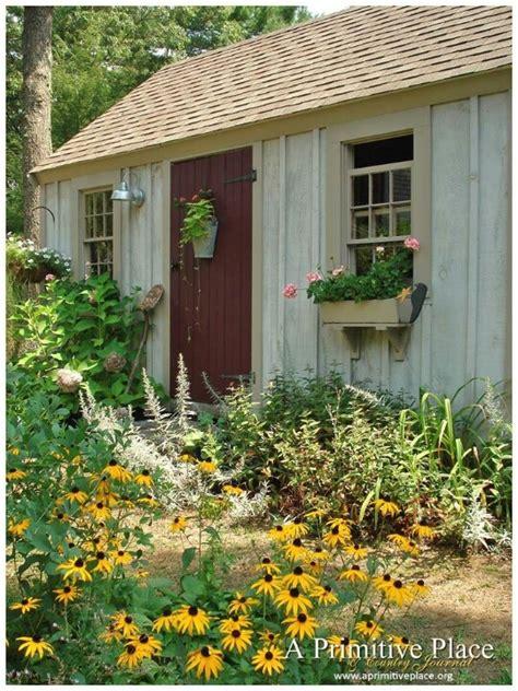 a primitive place magazine garden sheds pinterest