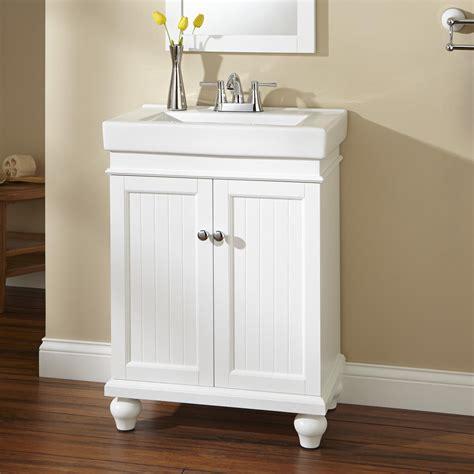 24 quot lander vanity white bathroom