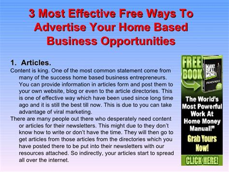 ways to get the most home for your money 3 most effective free ways to advertise your home based