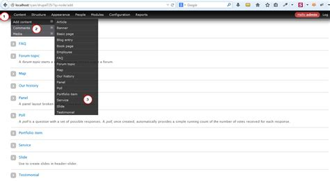 drupal custom template for content type drupal 7 x content types overview template help