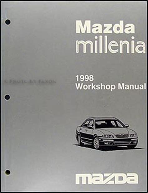 free online car repair manuals download 1998 mazda protege transmission control free repair manual 1998 mazda millenia 1998 mazda millenia service repair shop workshop manual
