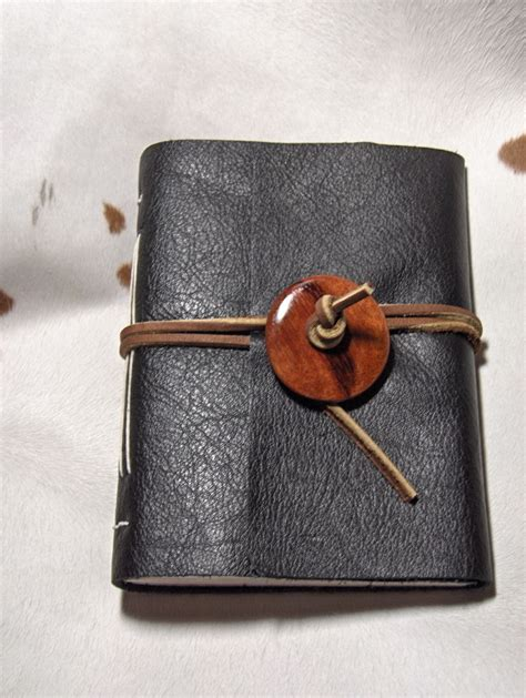 Handmade Leather Journal - handmade leather journal 183 a leather journal 183 bookbinding