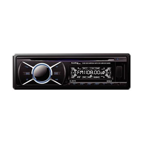 Headunit Audiolink Al 5075 1 Din Jual Audiolink Al 5075 Single Din Dvd Player Hitam