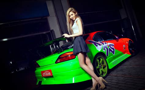 wallpaper girl car girls cars full hd wallpaper and background 1920x1200