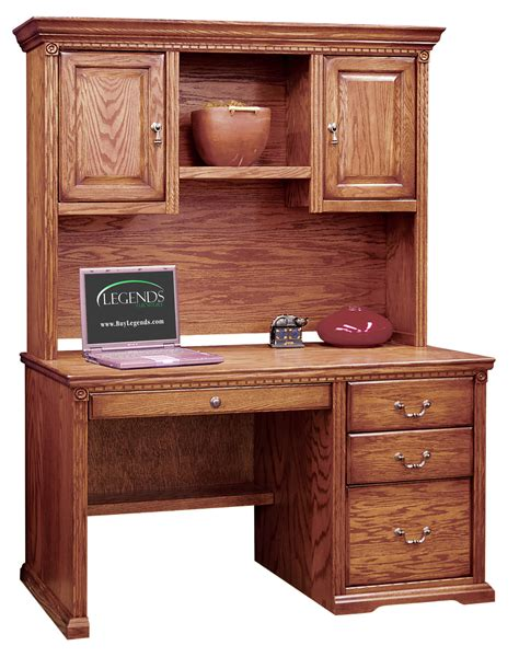 48 Desk With Hutch 48 Inch Desk With Hutch And Pencil Drawer 7378 Office Furniture Home Office Furniture Desks