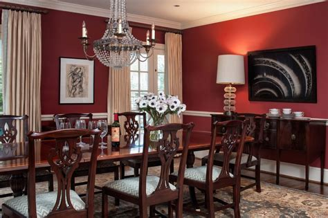 Red Dining Rooms by How To Create Modern Victorian Interiors Freshome Com