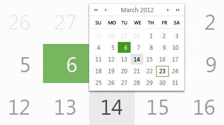 design calendar asp net calendar control telerik ui for asp net ajax telerik