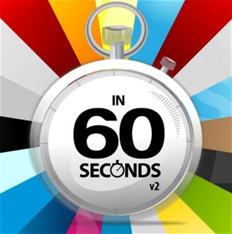 in sixty seconds prepare to be amazed at what happens every 60 seconds in