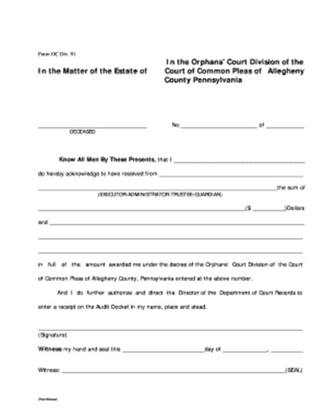 receipt and release form template bill of sale form pennsylvania model release form for