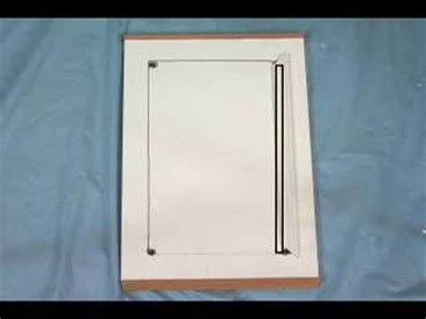 Install Cabinet Doors How Do I Install Glass In Cabinet Doors