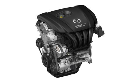 mazda 2 5 liter engine car and driver